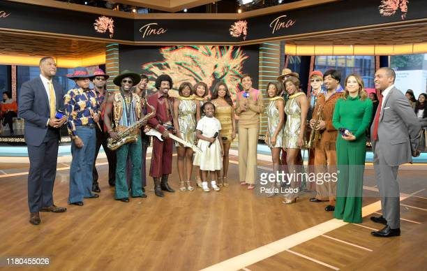 The cast of Tina The Tina Turner Broadway Musical perform live on Good Morning America Wednesday November 6 2019 on ABC GMA19 MICHAEL