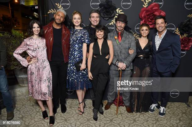 The Cast of UnREAL attends The Cast and Executive Producers from Lifetime's shows' 'Mary Kills People' and 'UnREAL' Celebrate the Upcoming Premieres...