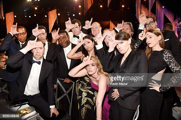 The cast of 'Veep' poses during The 23rd Annual Screen Actors Guild Awards at The Shrine Auditorium on January 29 2017 in Los Angeles California...