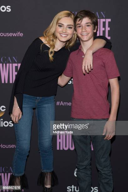 HOUSEWIFE The cast of Walt Disney Television via Getty Images's American Housewife attended the Walt Disney Television via Getty Images Studios For...