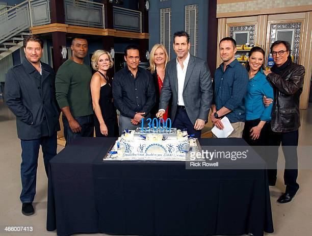 HOSPITAL The cast of ABC's 'General Hospital' celebrates its historic 13000th episode with a cakecutting ceremony on set with Executive Producer...