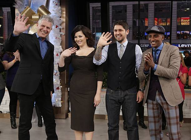 Nigella Lawson Appears On ABCs Good Morning America Photos And