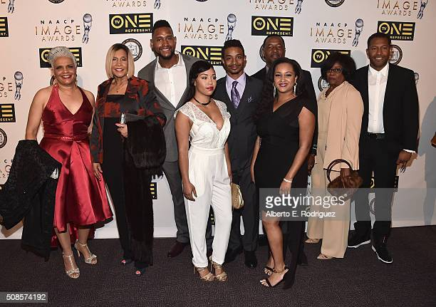 The cast of Welcome to Sweetie Pie's attends the 47th NAACP Image Awards NonTelevised Awards Ceremony on February 4 2016 in Pasadena California