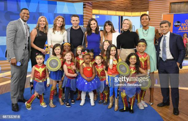 """The cast of """"Wonder Woman"""" visit """"Good Morning America,"""" on Tuesday, May 23 airing on the Walt Disney Television via Getty Images Television Network...."""