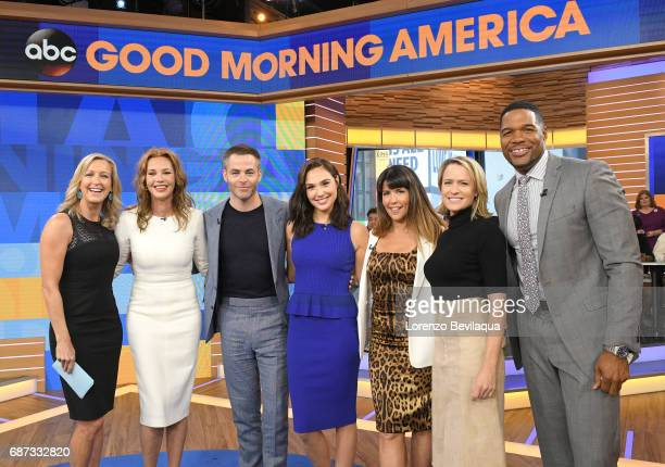 AMERICA The cast of Wonder Woman visit Good Morning America on Tuesday May 23 airing on the Walt Disney Television via Getty Images Television...