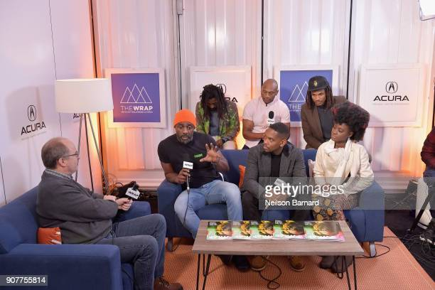 The cast of 'Yardie' attends the Acura Studio at Sundance Film Festival 2018 on January 20 2018 in Park City Utah