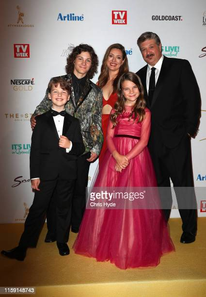 The cast of Young Sheldon arrives at the 61st Annual TV WEEK Logie Awards at The Star Gold Coast on June 30 2019 on the Gold Coast Australia