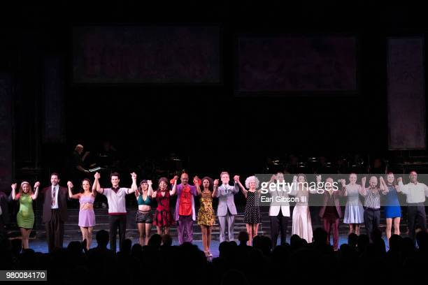 Environmental Photo from Reprise 20 Presents 'Sweet Charity' Opening Night Performance at Freud Playhouse UCLA on June 20 2018 in Westwood California
