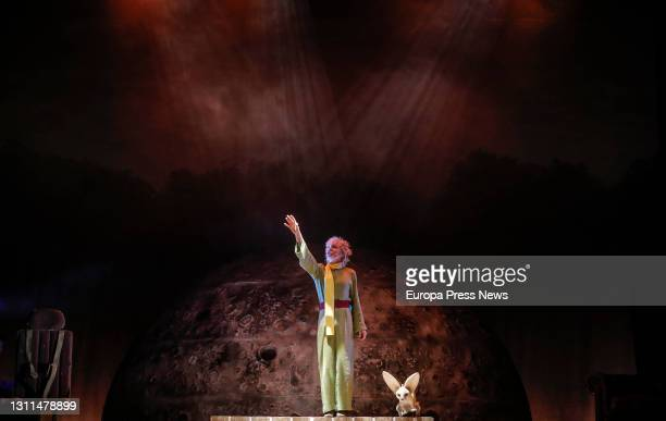 The cast perform the Musical Theatre play 'Antoine' at the Olympia Theatre, on April 8 in Valencia, Valencian Community, Spain. Antoine' is based on...