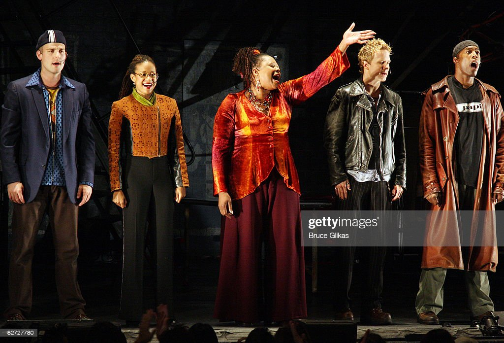 """""""RENT"""" Broadway Closing Night - Arrivals and Curtain Call : News Photo"""