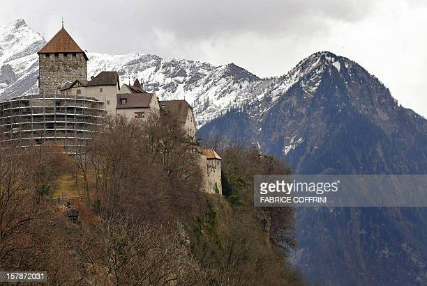 The Castel of Vaduz home of the Liechtenstein princely family is pictured on March 1 2008 in Vaduz Liechtenstein whose reputation has been sullied by...