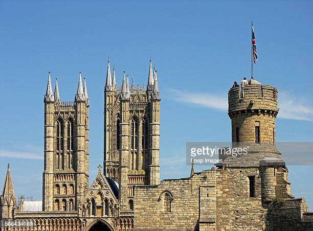 The Castle and Cathedral at Lincoln both dating from the 12th century