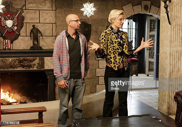 "The Castle"" Episode 204 -- Pictured: Adam Friedman, Lisa D'Amato before renovation --"