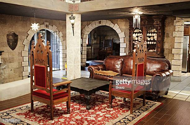 LEWIS 'The Castle' Episode 204 Pictured Living Room before renovation