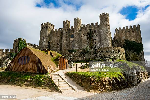 The castle, Obidos, Estremadura, Portugal, Europe