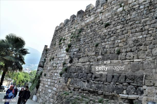 The Castle of Bursa or Saltan Gate is pictured in Bursa northwestern Turkey on May 1 2018