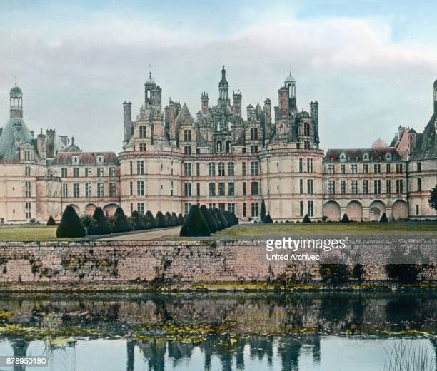 The Castle of Chambord near the city of Blois