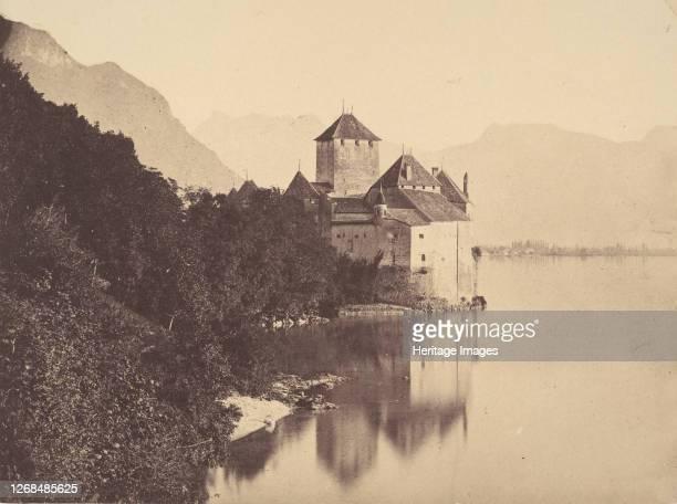 The Castle of Chillon, 1855. Artist John Joscelyn Coghill.