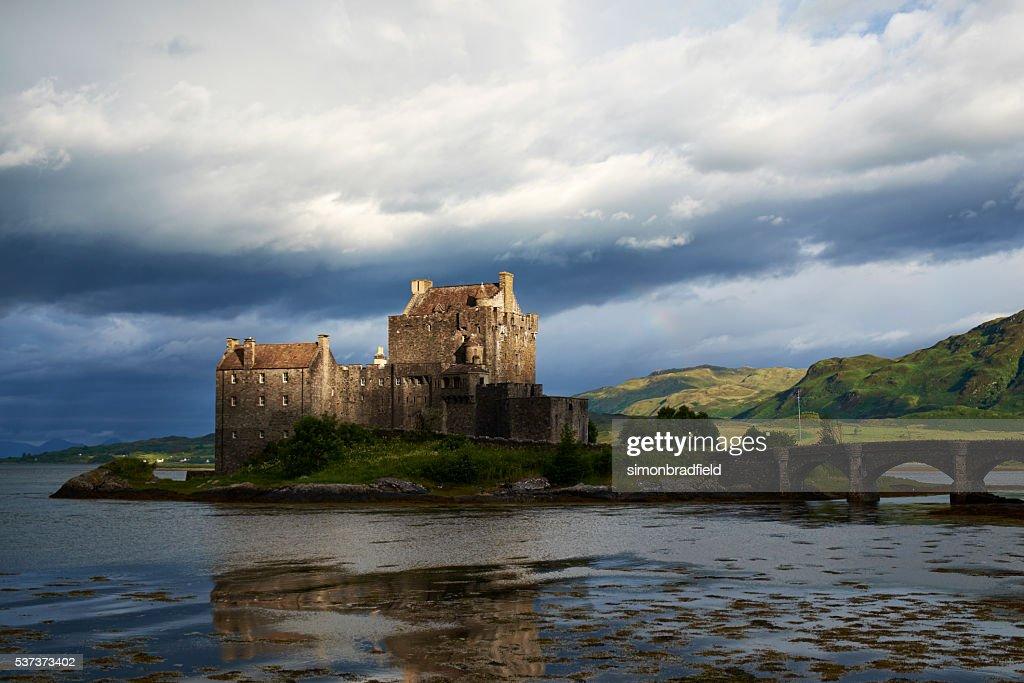 Das Schloss Eilean Donan : Stock-Foto