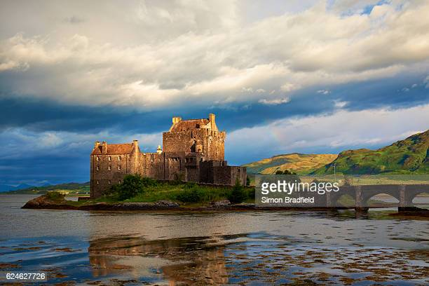 The Castle Of Eileen Donan In Scotland