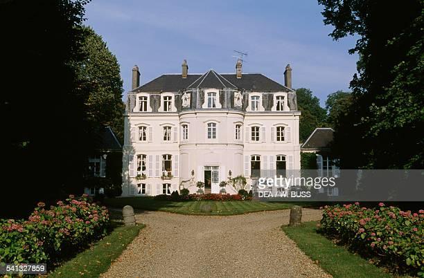 The castle of Hesdinl'Abbe' today a hotel NordPas de Calais France
