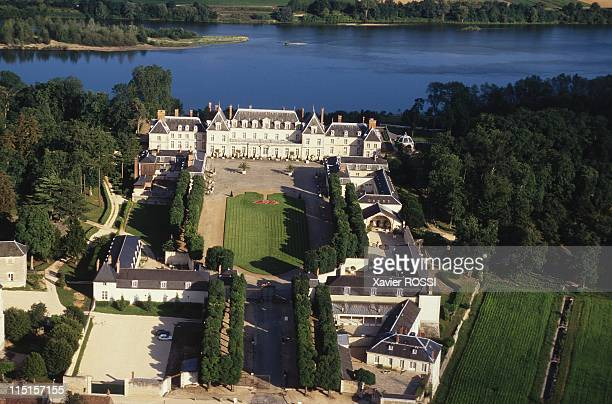 The Castle of Madame de Pompadour reopened to the public in Menars France on July 10 1997