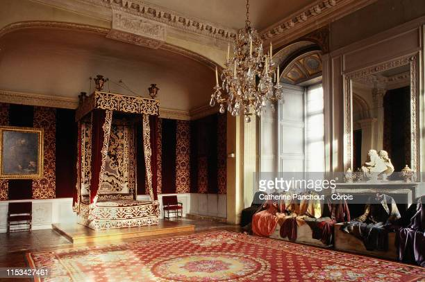 The castle of Maisons designed in 1651 by renowned French architect François Mansart for René de Longueil on January 14, 2018 in Maisons-Laffitte....