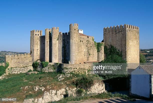 The castle of Obidos, Centro, Portugal, 14th century.