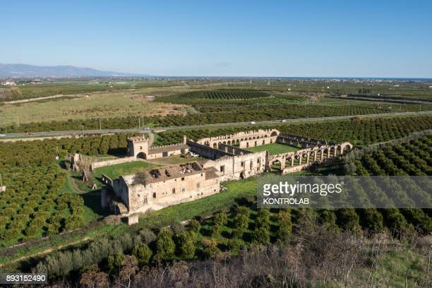 The Castle of San Mauro in Corigliano Calabro Calabria southern Italy Built around the fifteenth century it was set for several films The Castle is...