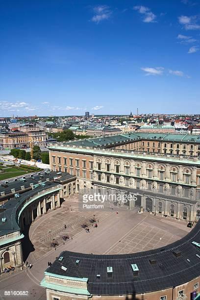 The castle of Stockholm Sweden.