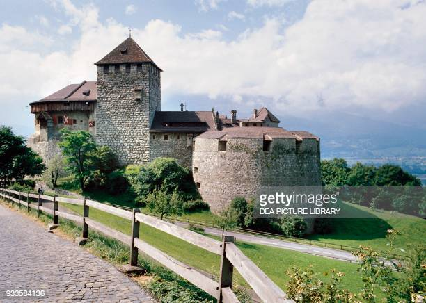 The castle of Vaduz official residence of the Princes of Liechtenstein Liechtenstein 12th20th century