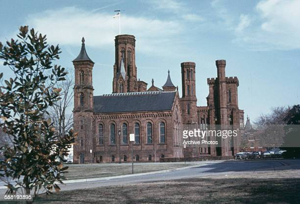 The Castle or the Smithsonian Institution Building in Washington DC USA circa 1965