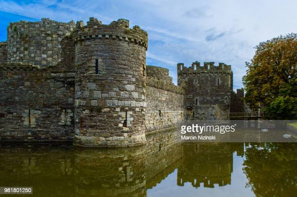 the castle - moat stock pictures, royalty-free photos & images