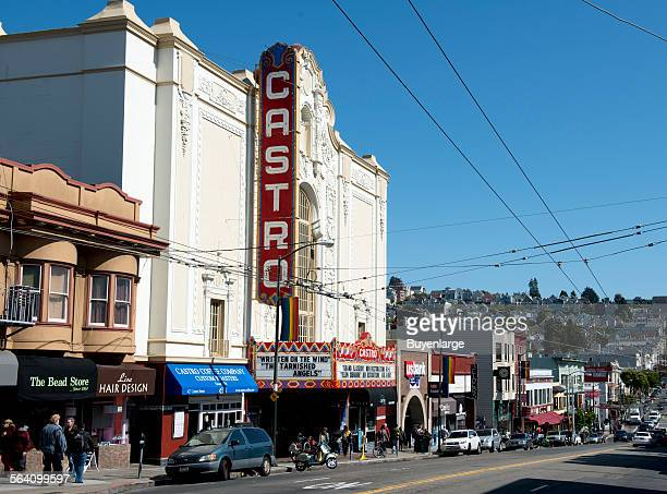 The Castro District a neighborhood in Eureka Valley in San Francisco California