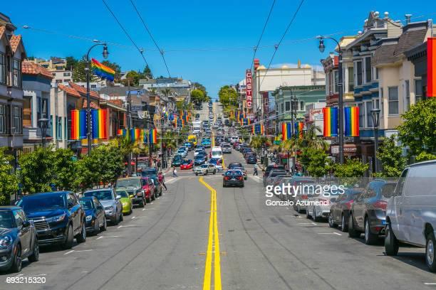 The Castro district at San Francisco
