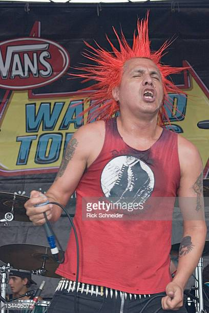 The Casualties during 2006 Vans Warped Tour Miami at Bicentennial Park in Miami Florida United States