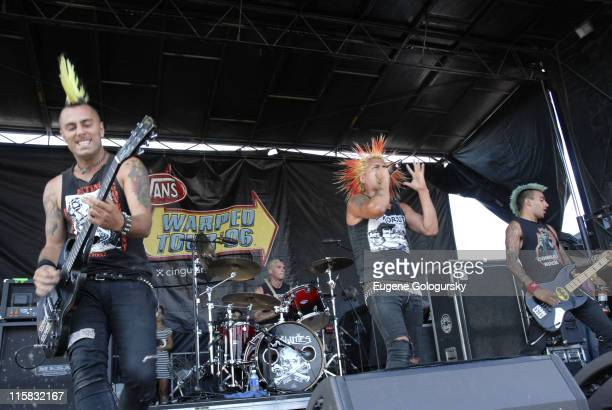 The Casualties during 2006 Vans Warped Tour - Uniondale at Nassau Coliseum in Uniondale, New York, United States.