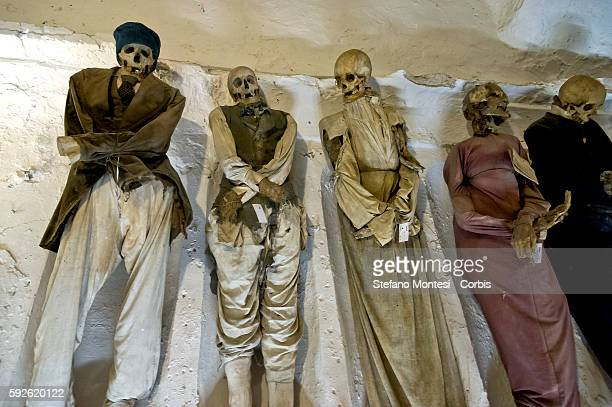 The Catacombs of the Capuchins of Palermo it preserves 8000 bodies mummified of Capuchins to nobles bourgeois and representatives of the clergy 1500...