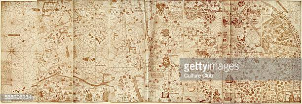 The Catalan Atlas by Jehuda Cresques 1375 Jehuda Cresques also known as Jafudà Cresques Jaume Riba and Cresques lo Juheu was a cartographer converso...