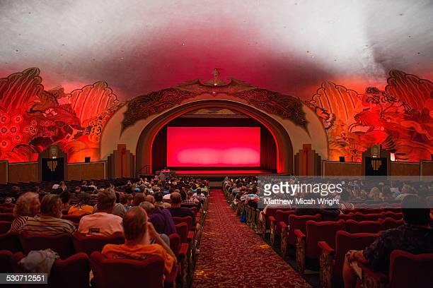 the catalina island casino movie theatre - apresentação de filme - fotografias e filmes do acervo