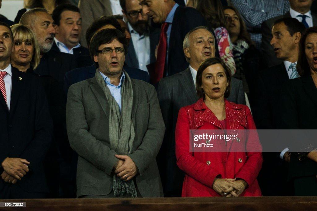 Girona v Barcelona - La Liga : News Photo