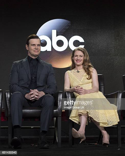 TOUR 2017 The Catch Session The cast and executive producers of The Catch addressed the press at Disney | ABC Television Group's Winter Press Tour...