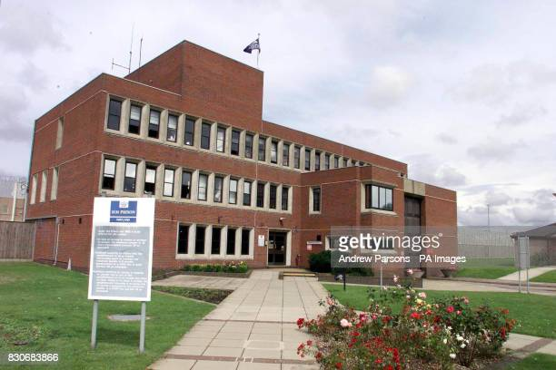 The Category C jail Wayland prison near Thetford Norfolk to where disgraced peer Lord Archer got transferred after spending three weeks in the tough...