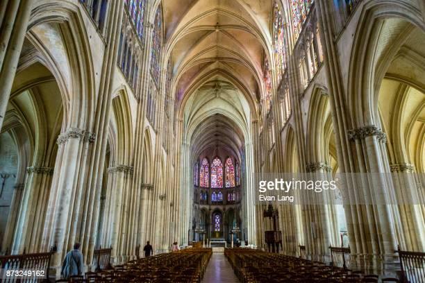 the cathédrale saint-pierre saint-paul - troyes champagne ardenne photos et images de collection