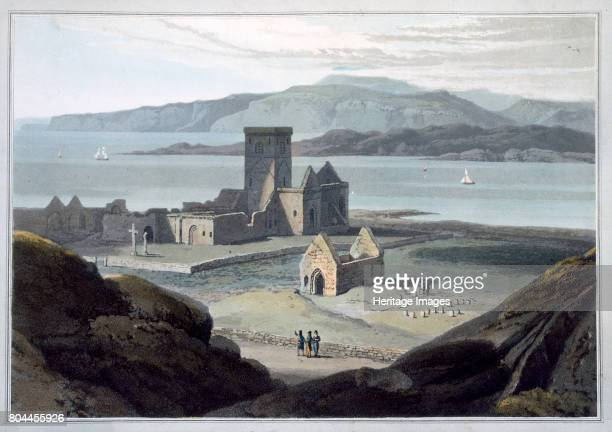 The Cathedral at Iona' Argyll and Bute Scotland 1817 Iona is considered to be the place from which Christianity spread to Scotland after St Columba...