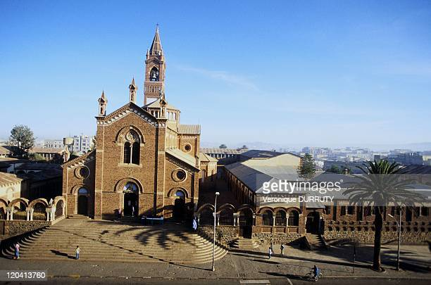 The cathedral catholic in Asmara, Eritrea - Eritrea is a country where many religions coexist. The two most represented religions are Islam, and...