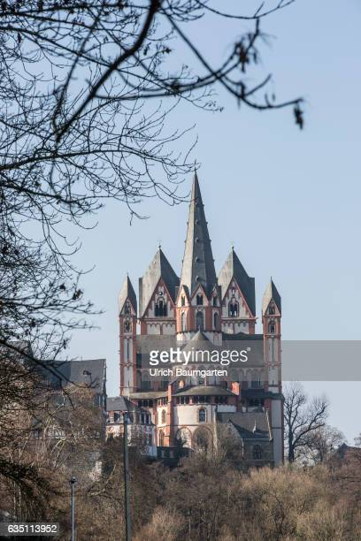 The cathedral in Limburg on the River Lahn