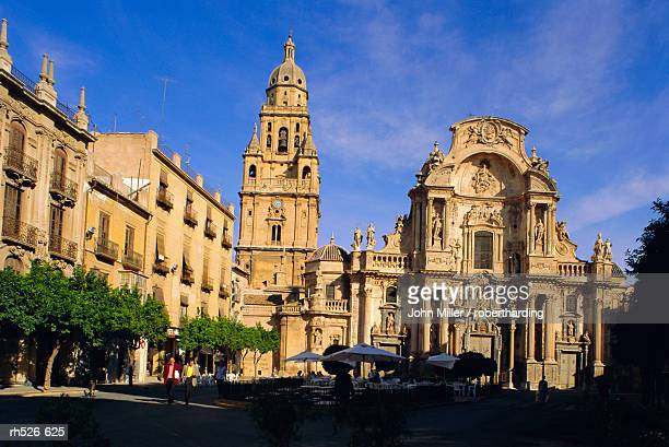the cathedral in murcia, murcia, spain - ムルシア市 ストックフォトと画像