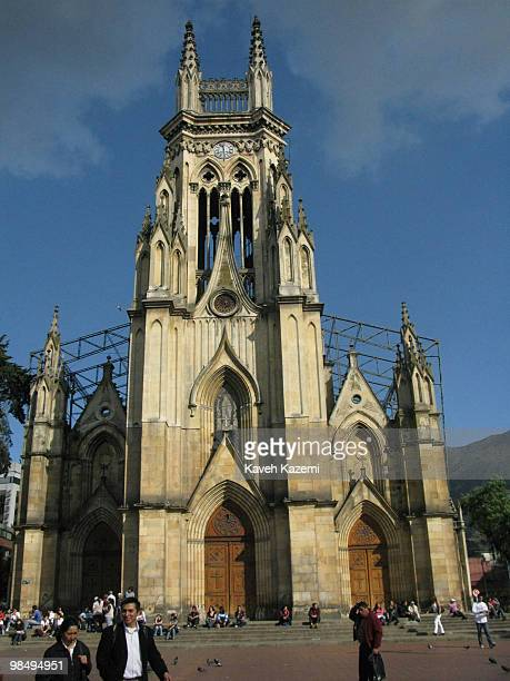The cathedral in old part of the city Bogota formerly called Santa Fe de Bogota is the capital city of Colombia as well as the most populous city in...