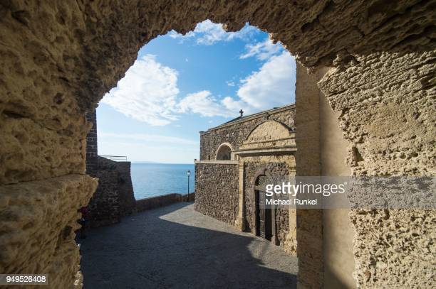 The cathedral in the castle, Castelsardo, Sardinia, Italy
